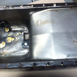John Deere 450 Oil Pan Used