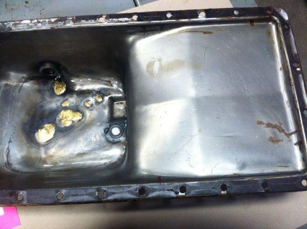 John Deere 450 Oil Pan Used