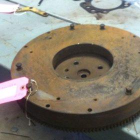 John Deere 450 Tractor Flywheel